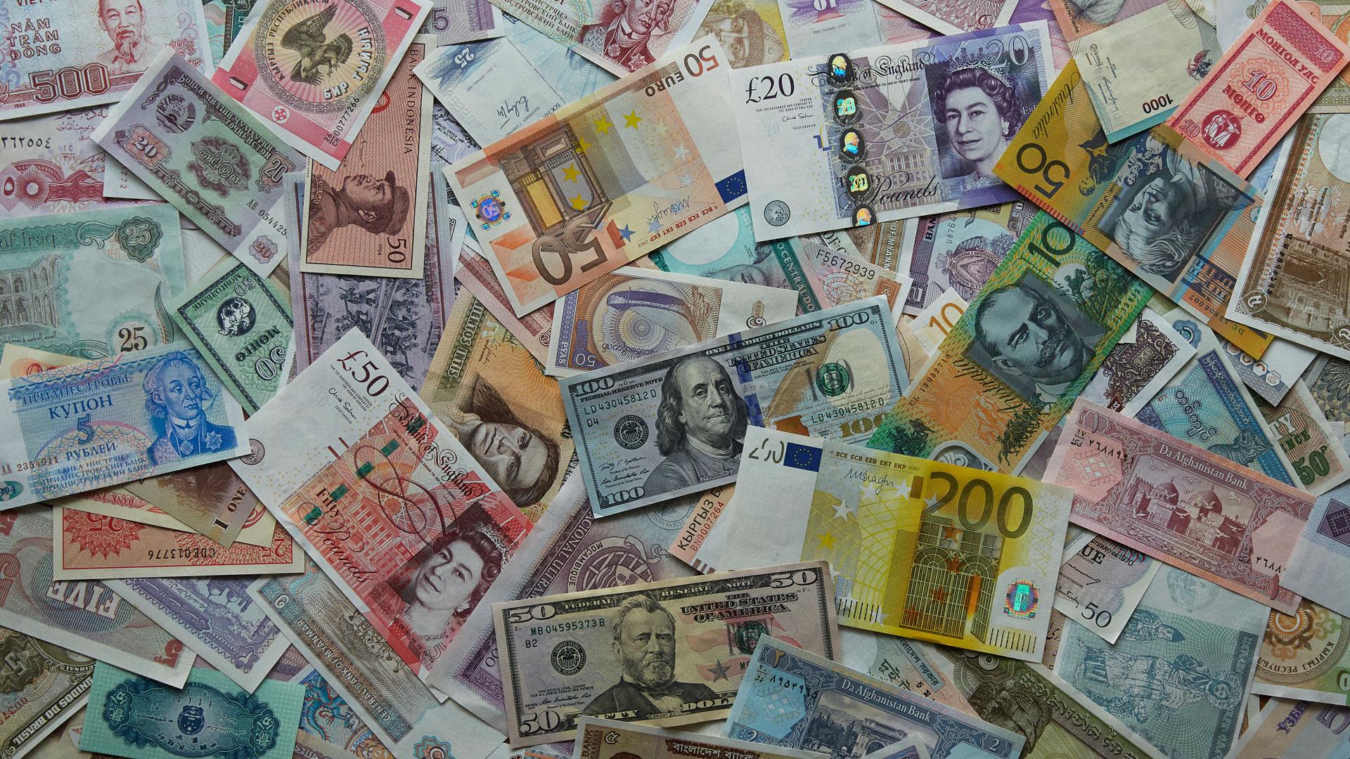 世界の紙幣イメージ